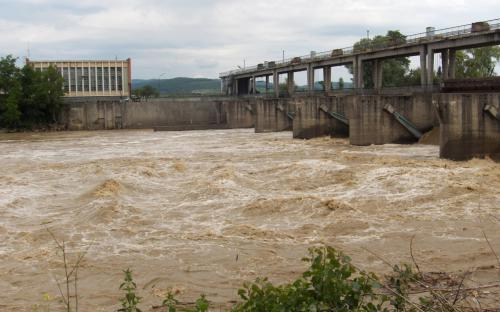 Nagy Szamos áradás